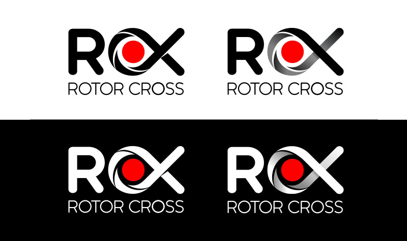 Spirit Graphics - Brand Design - RotorCross Logo Variants