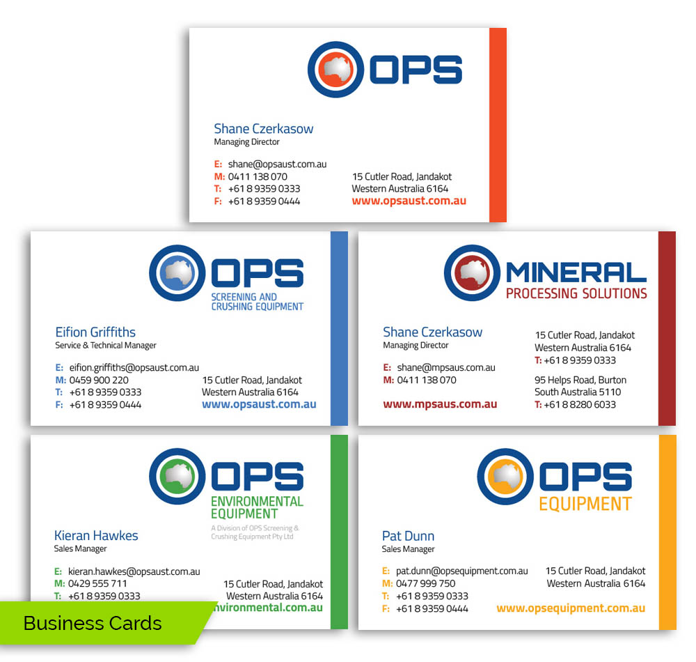 Spirit Graphics | OPS Business Cards